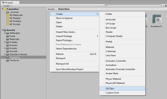 Unity 3D tip: Making transparent GUI buttons (Part I