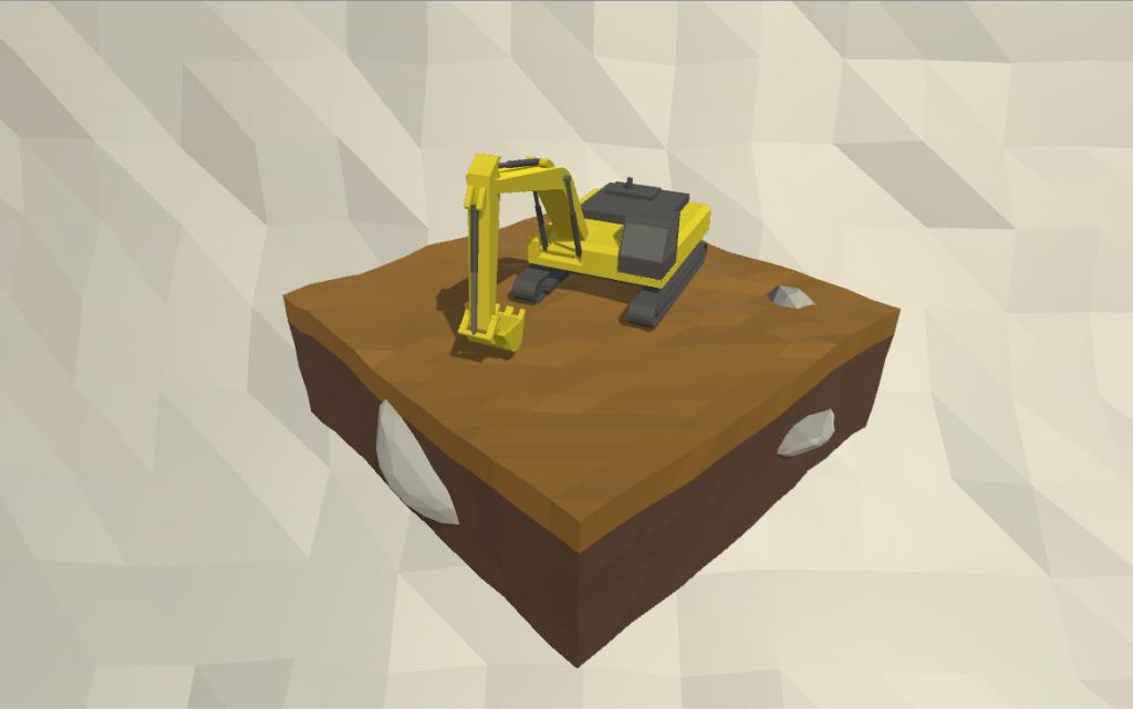 Excavator no filter