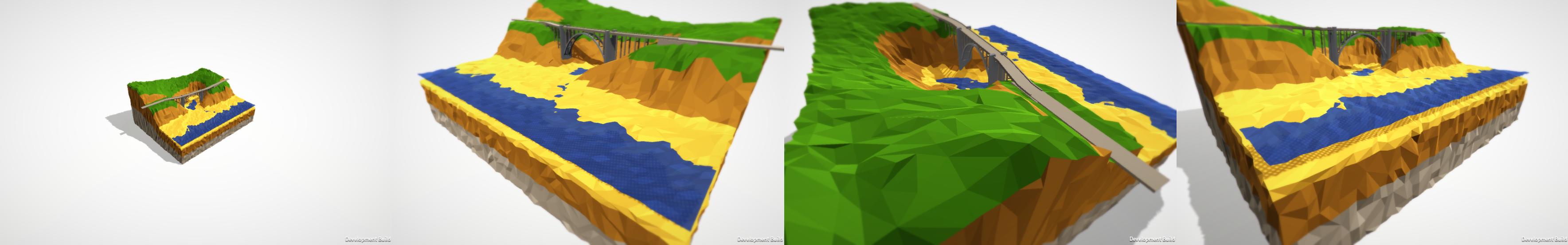 Unity 3D renders